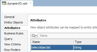 WHERE Clause on dynamic ViewObject