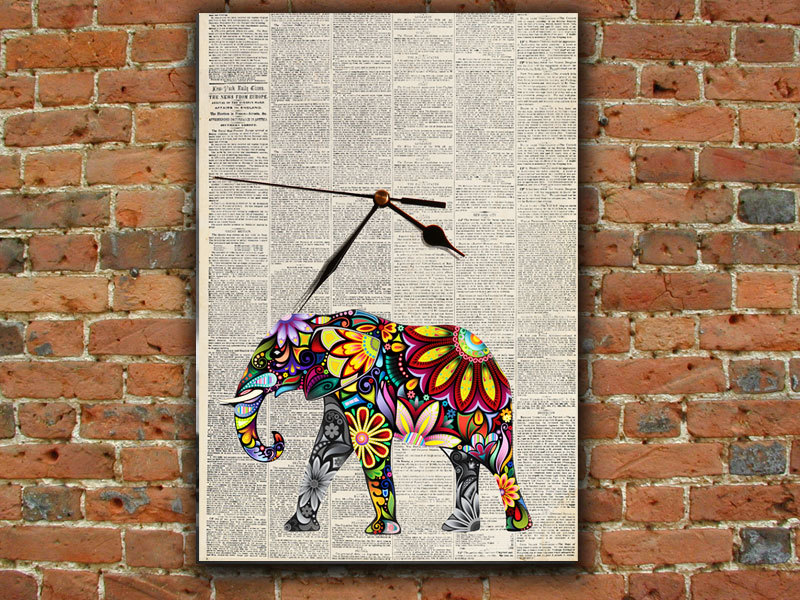 newspaper wall art ~ crafts and arts ideas
