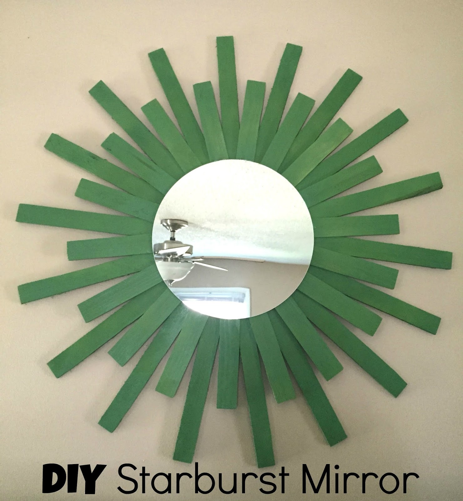 Its A Long Story Diy Starburst Mirror