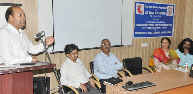 Five-day training program on life skill development in YMCA University concludes