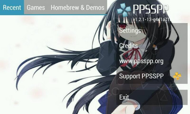 Cara Ganti Background PPSSPP ANDROID