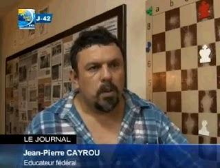 Jean-Pierre Cayrou, le président de l'association Peremana © Chess & Strategy