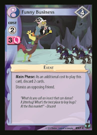 My Little Pony Funny Business Defenders of Equestria CCG Card