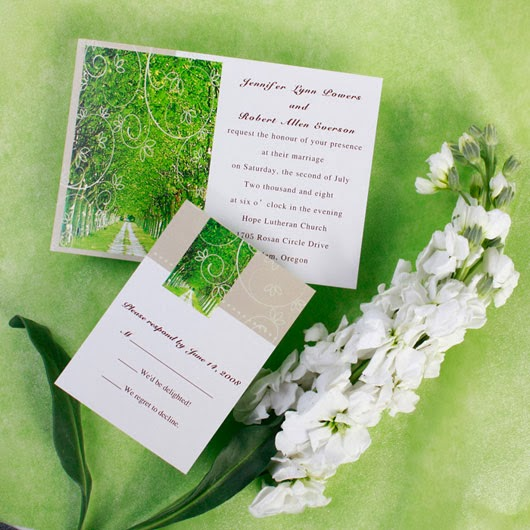 Black Wedding Invitations: Personalized Wedding Invitations