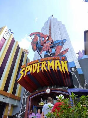 Spider-Man Universal Studios Orlando Floride