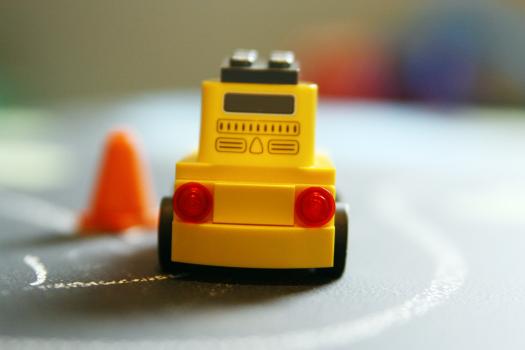 Lego Table with Blackboard