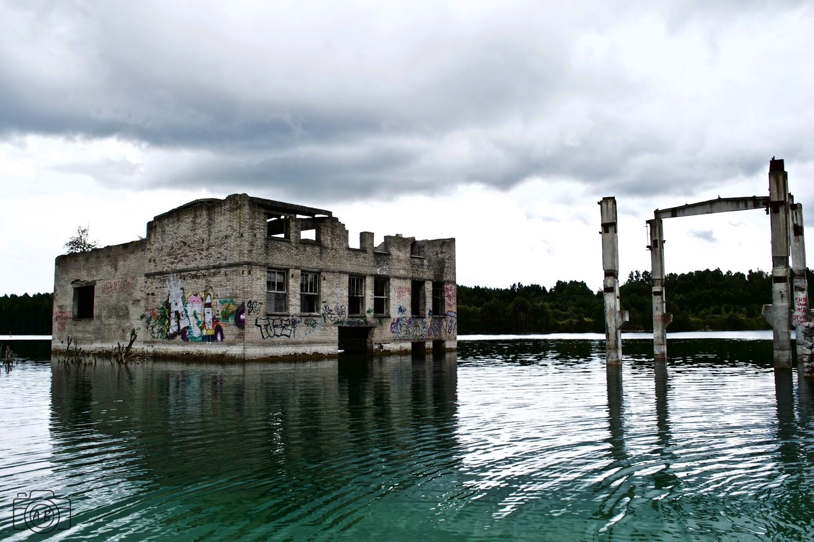Prison de Rummu, ruines