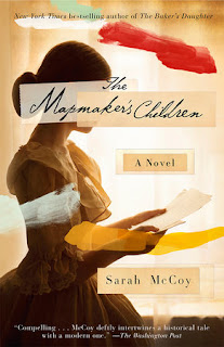Mapmaker's Children book review historical fiction contemporary fiction
