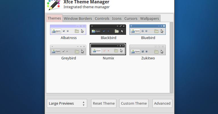 Xfce Theme Manager: A Single GUI To Change Any Xfce Theme