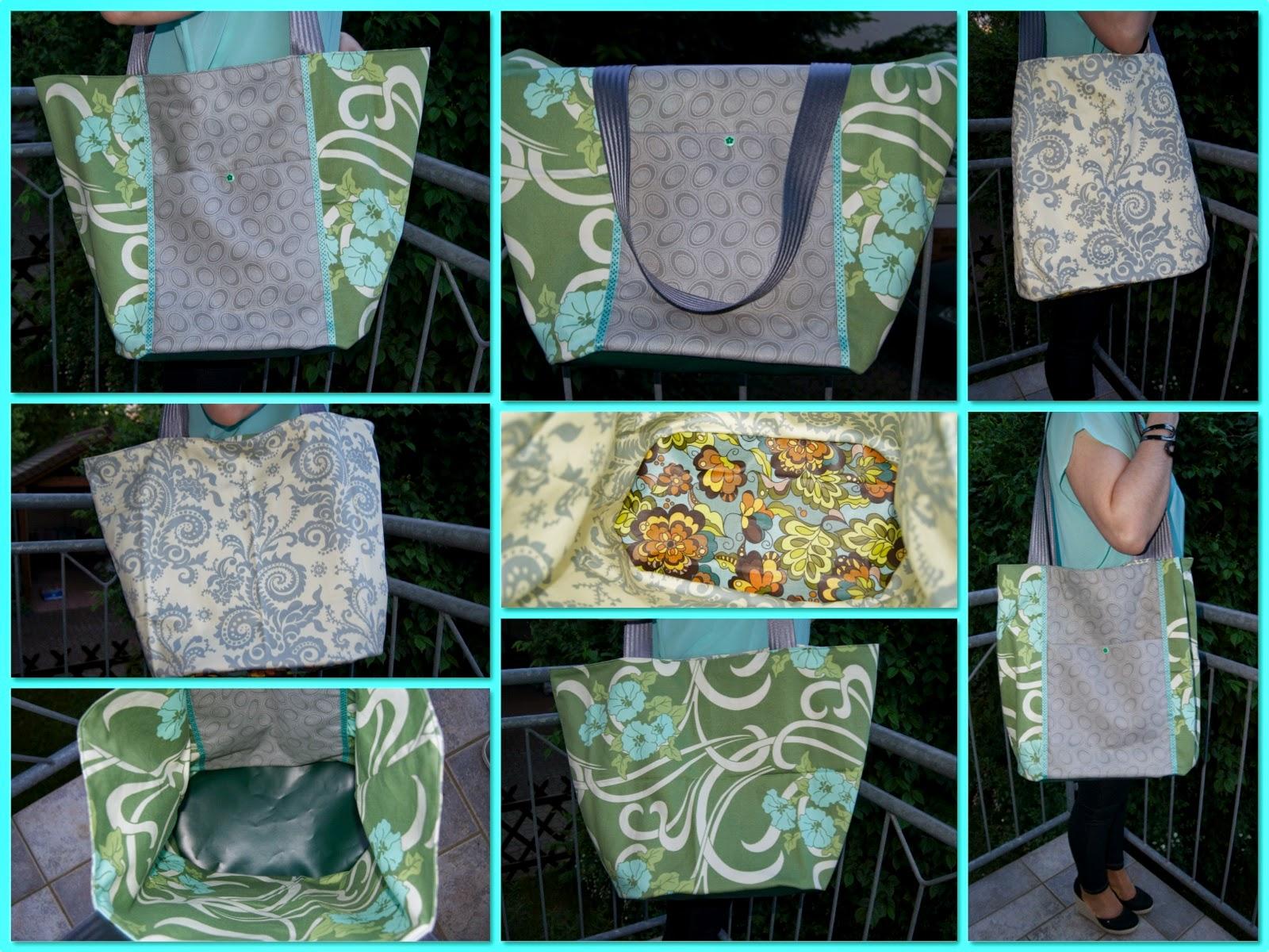 Taschenspieler II Sew Along - Markttasche