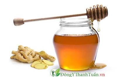 Cách chữa viêm họng hiệu quả bằng mật ong và gừng