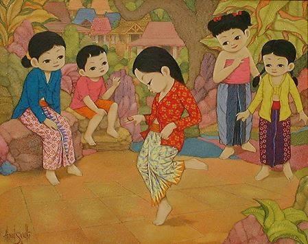 Permainan Tradisional Sudamanda atau Engklek