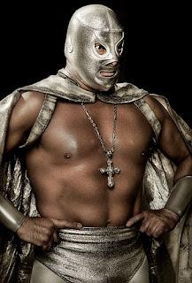 mascara de luchador  el santo