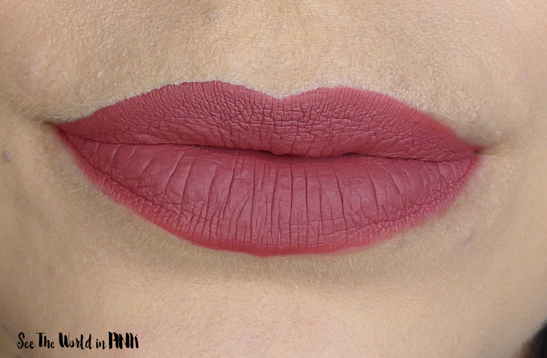 "Hank and Henry Lip Aesthetic Matte Liquid Lipstick in ""Petal Pusher"""