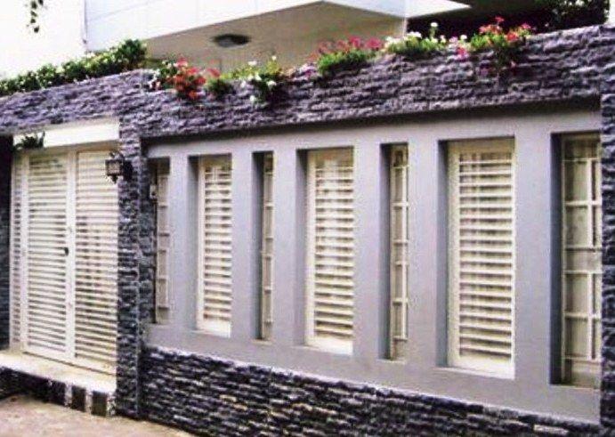 Ragam Desain Pagar Tembok Rumah Minimalis