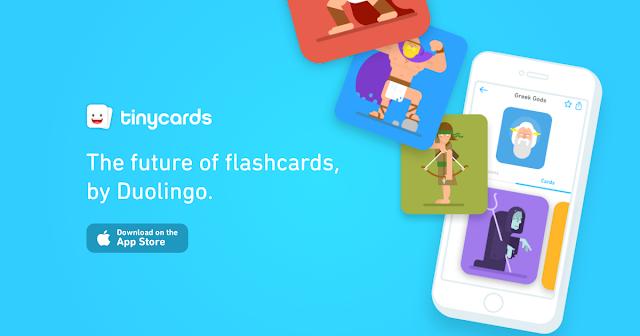 將圖像記憶閃卡製作成遊戲 Duolingo 推出 Tinycards Tinycards-00