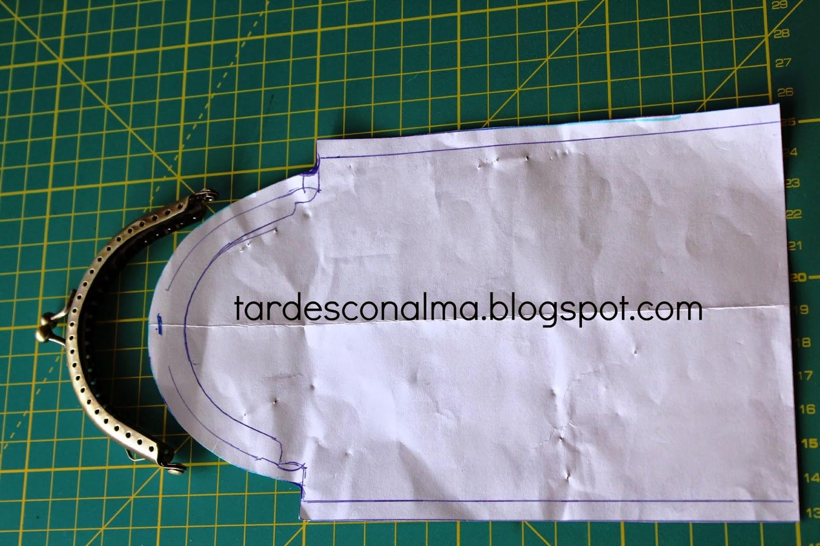 Boquilla de 9,5 cm y patrón DIY Tutorial funda de gafas con boquilla