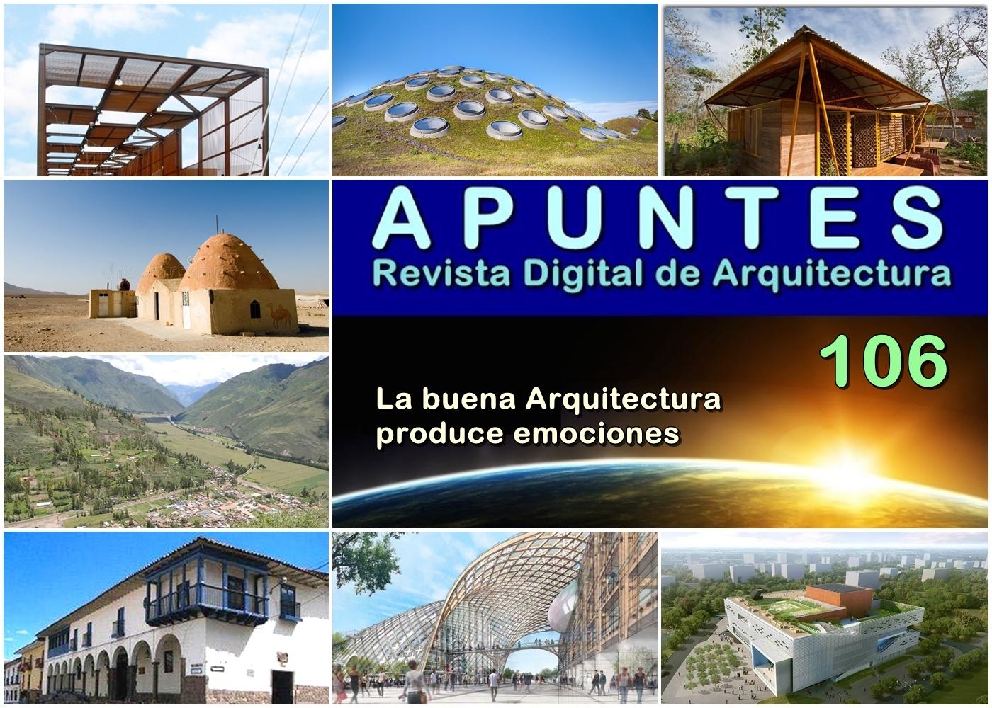 Apuntes Revista Digital De Arquitectura Apuntes 106