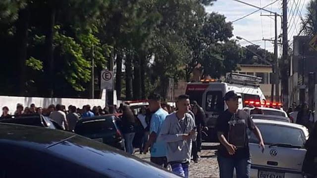 URGENTE: Chega a dez número de mortos em tiroteio em Suzano