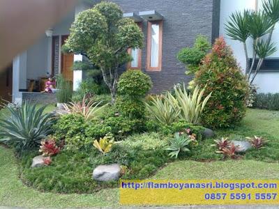 Tukang Taman Surabaya Taman minimalis konsep rindang