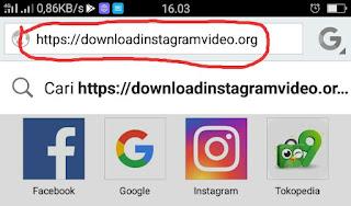 Cara Download Video atau Foto Instagram 3