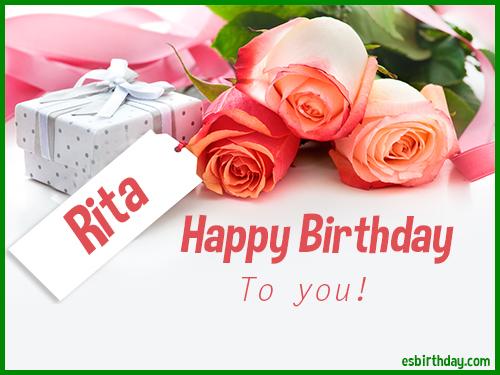 Happy Birthday Rita