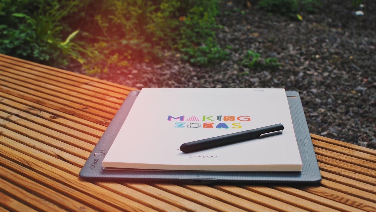 Wacom Bamboo Slate | So smart kann ein Notizblock sein