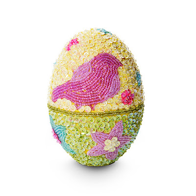 Limited Edition Beaded Easter Egg From Godiva