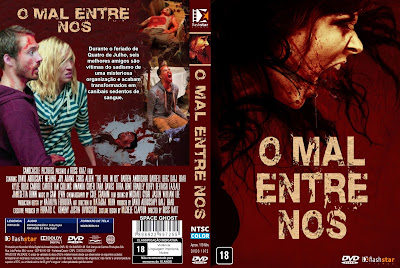 Filme O Mal Entre Nós (The Evil in Us) DVD Capa