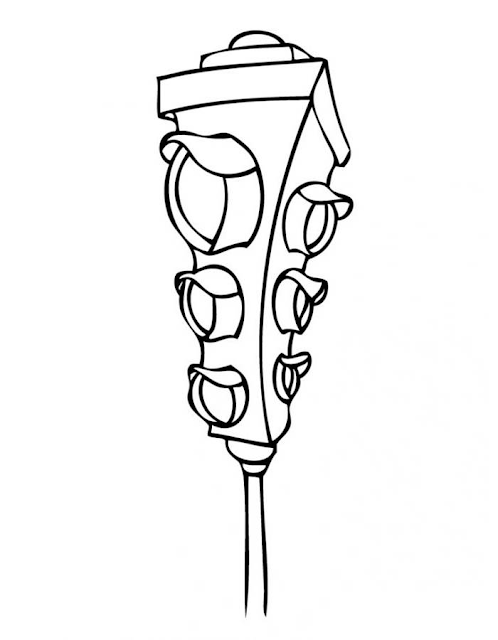 Gambar Mewarnai Lampu Lalu Lintas - 5