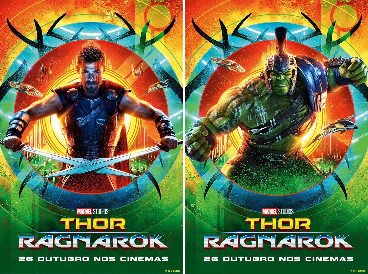 Marvel Movie Posters: The Blot Says...: Marvel's Thor: Ragnarok Character Movie