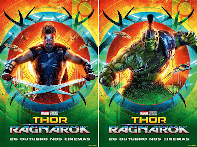 Marvel's Thor: Ragnarok Character Movie Poster Set #2