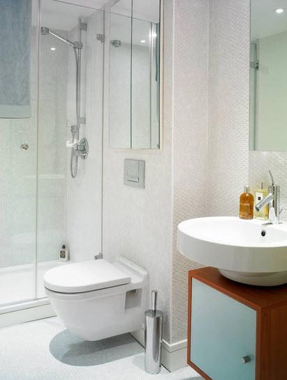 Diseño de cuarto de baño pequeños y medianos con ideas ...