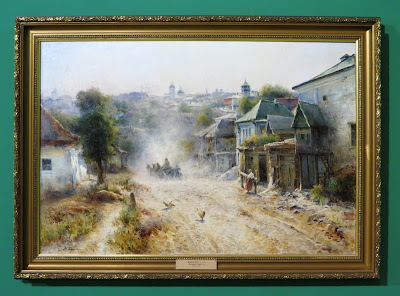 М. Беркос, Улица в Умани, 1895
