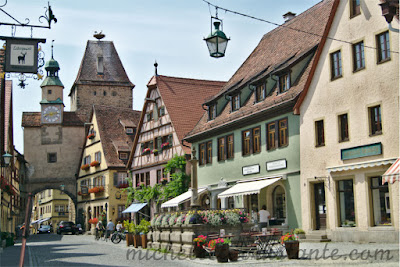 o que fazer em Rothemburg, Rota Romântica
