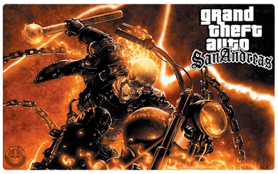 GTA San Andreas Ghost Rider v1.1 Mod (Download Free)