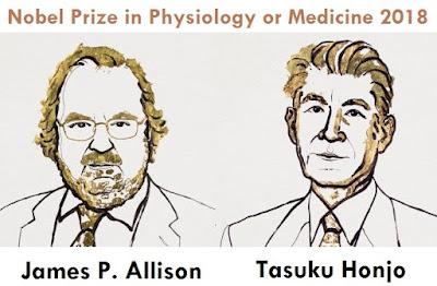2018 Nobel Prize in Physiology or Medicine for James P. Allison Tasuku Honjo
