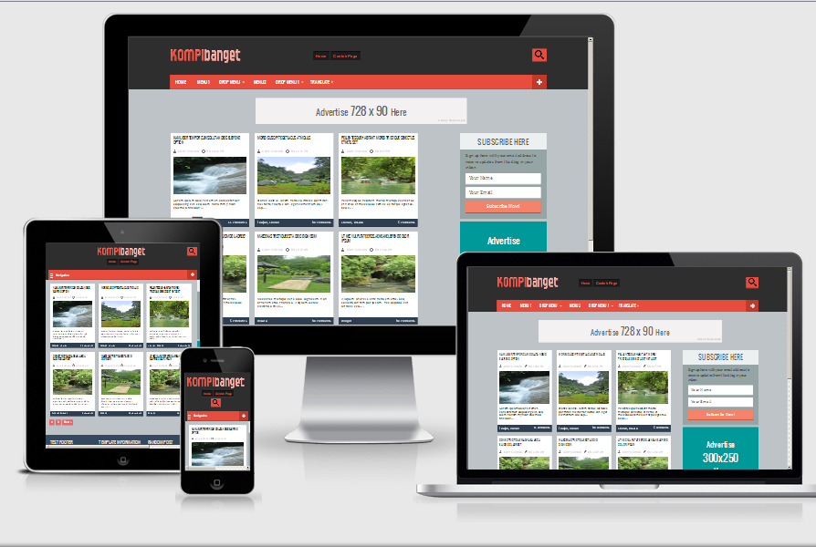 Kompi Banget Responsive Blogger Template-Valid HTML5 and CSS3