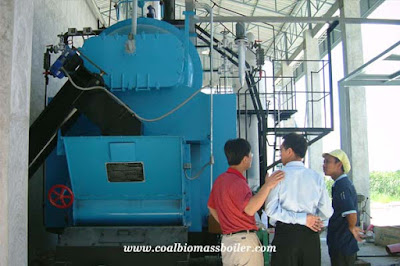 Biomass Fired Boiler in Thailand