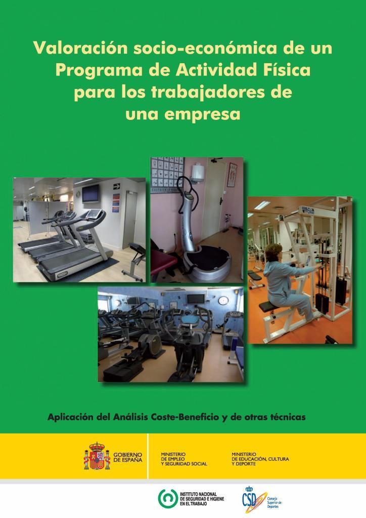 Valoración socio-económica de un programa de actividad física para los trabajadores de una empresa