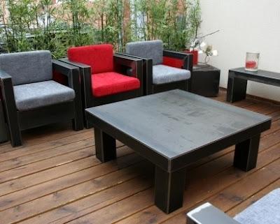 design for loft les plus beaux meubles en m tal. Black Bedroom Furniture Sets. Home Design Ideas