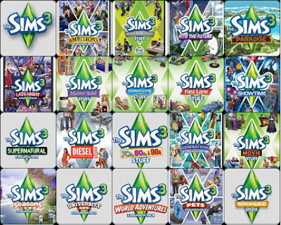 game is a life the sims 3 all expansion stuff pack repack. Black Bedroom Furniture Sets. Home Design Ideas