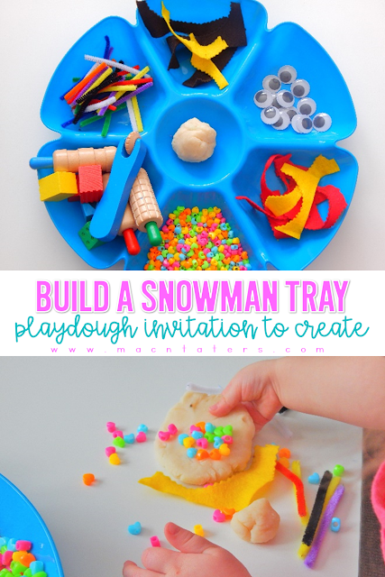 Build A Snowman Invitation To Create