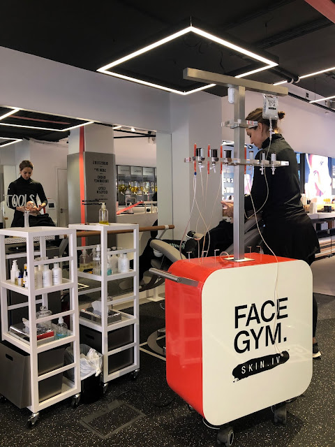 Face Gym event with the beauty director of Tatler and found of the Editors List Olivia Falcon