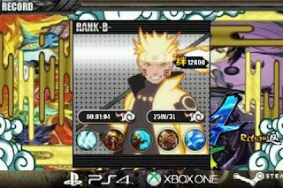 Senki Ninja Strom4 Full Burst Apk