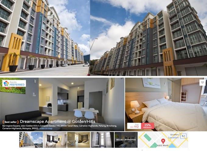 Cari Homestay Apartment Dekat Pasar Malam Brinchang?