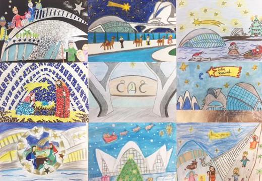 La Ciutat de les Arts i les Ciències convoca la XIII edición del concurso de dibujo de Navidad