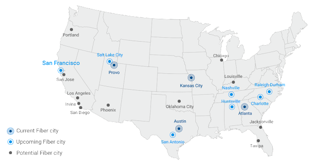 Internet Service: Google Fiber To Serve San Francisco Apartments, Condos