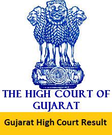 Gujarat High Court Result