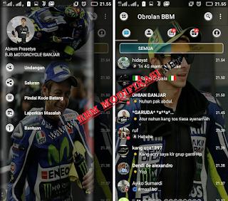 BBM Valentino Rossi Versi 3.3.1.24 apk + Dual BBM
